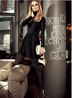 Immagine di art. 1383SI Vanity Collant Moda Coprente