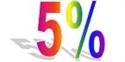 Immagine per la categoria SCONTO 5%